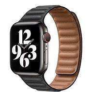 COTEetCI Double Suction bőrszíj Apple Watch 42/44mm okosórához, fekete