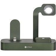 COTEetCI Base29 3 az 1-ben töltőállomás Apple iPhone & Watch & AirPods/Pro termékekhez, zöld - Töltőállvány