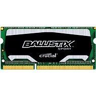 Crucial SO-DIMM 4 GB DDR3 1600 MHz CL9 Ballistix Sport - Rendszermemória
