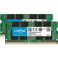 Crucial SO-DIMM 16GB KIT DDR4 2400MHz CL17 Single Ranked x8 - Rendszermemória