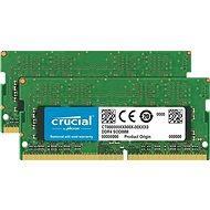 Crucial SO-DIMM 32GB KIT DDR4 2666MHz CL19 Dual Ranked - Rendszermemória