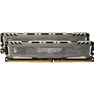 Crucial 16GB KIT DDR4 3200MHz CL16 Ballistix Sport LT Grey - Rendszermemória