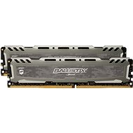 Crucial 16GB KIT DDR4 3000MHz CL15 Ballistix Sport LT Grey - Rendszermemória