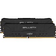 Crucial 16GB KIT DDR4 3000MHz CL15 Ballistix Black - Rendszermemória