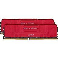 Crucial 16GB KIT DDR4 3000MHz CL15 Ballistix Red - Rendszermemória