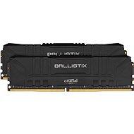 Crucial 16GB KIT DDR4 3200MHz CL16 Ballistix Black, fekete színű - Rendszermemória
