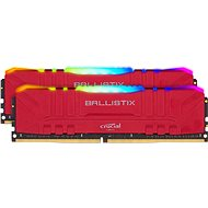 Crucial 32GB KIT DDR4 3200MHz CL16 Ballistix Red RGB - Rendszermemória