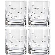 Crystalex Whiskys pohár 280 ml 4 db fényes csiszolás