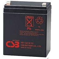 CSB HR1221W F2, 12V, 5,1Ah - Akkumulátor