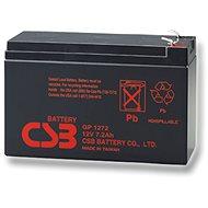CSB GP1272 F2, 12V, 7.2Ah - Akkumulátor