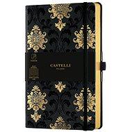 CASTELLI MILANO Copper & Gold Baroque, M méret Gold - Jegyzetfüzet
