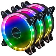 AKASA ARGB kit - 3x Akasa Vegas AR7 LED 12 cm / AK-FN107 - Számítógép ventilátor