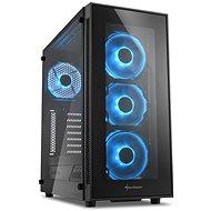 Sharkoon TG5 Glass Blue - Számítógépház