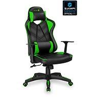 CSATLAKOZNI A LeMans Pro CGC-0700-GR, zöld - Gamer szék