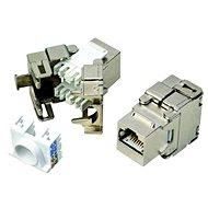 Datacom RJ45 STP CAT5E SILVER önmetsző zárókő - Keystone