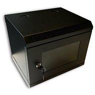 """Datacom 10 """"6U / 280 mm (üveges) fekete - Állvány"""