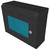 """Datacom 10"""" 6U / 140 mm (üveges) fekete - Állvány"""