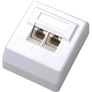 Datacom adatkábel dugalj UTP CAT5E falon kívüli 2000