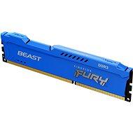 Kingston FURY 4GB DDR3 1600MHz CL10 Beast Blue - Rendszermemória