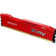 Kingston FURY 8GB DDR3 1600MHz CL10 Beast Red - Rendszermemória