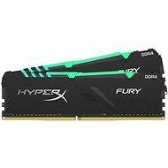 HyperX 32GB KIT DDR4 2666MHz CL16 RGB FURY Series - Rendszermemória