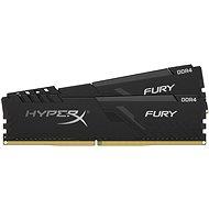 HyperX 32GB KIT DDR4 2666MHz CL16 FURY Black - Rendszermemória