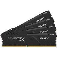 Rendszermemória HyperX 128GB KIT DDR4 3000MHz CL16 FURY Black Series
