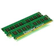 Kingston 16GB KIT DDR3 1333MHz CL9 Single Rank - Rendszermemória