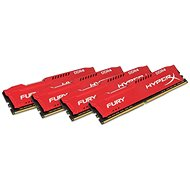 HyperX 32GB KIT DDR4 2933MHz CL17 Fury Red Series - Rendszermemória