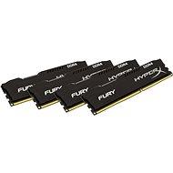 HyperX 32GB KIT DDR4 2933MHz CL17 Fury Black Series - Rendszermemória