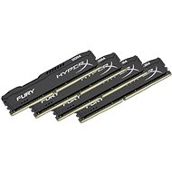 HyperX 64GB KIT DDR4 2666MHz CL16 Fury fekete sorozat - Rendszermemória