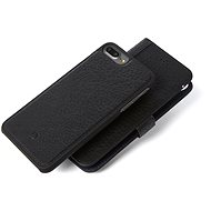 Decoded Leather 2in1 Wallet Case Black iPhone 7 Plus /8 Plus - Mobiltelefon tok