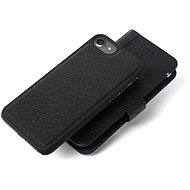 Decoded Leather 2in1 Wallet Case Black iPhone 7/8 - Védőtok