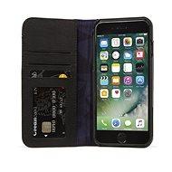 Decoded Leather Wallet Case 2 Black iPhone 8 Plus/7 Plus/6s Plus - Mobiltelefon tok