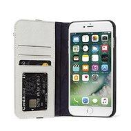 Decoded Leather Wallet Case 2 Grey iPhone 8 Plus/7 Plus/6s Plus - Mobiltelefon tok