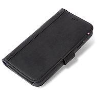 Decoded Leather Card Wallet Black iPhone XR - Mobiltelefon tok