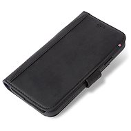Decoded Leather Card Wallet Black iPhone XS Max - Mobiltelefon tok