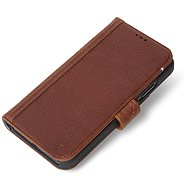 Decoded Leather Card Wallet Brown iPhone XS Max - Mobiltelefon tok