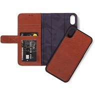 Decoded Leather 2in1 Wallet Brown iPhone XR - Mobiltelefon tok