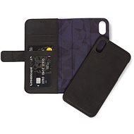 Decoded Leather 2in1 Wallet Black iPhone XR - Mobiltelefon tok