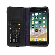Decoded Leather Wallet Case Black iPhone 8 Plus/7 Plus/6s Plus - Mobiltelefon tok