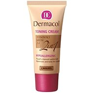 DERMACOL tonizáló krém 2in1 - Karamell 30 ml