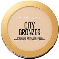 MAYBELLINE NEW YORK City Bronzer bronzosító és kontúrozó púder 100 Light Cool 8 g - Bronzosító