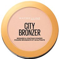 MAYBELLINE NEW YORK City Bronzer bronzosító és kontúrozó púder 150 Light Warm 8 g - Bronzosító