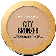 MAYBELLINE NEW YORK City Bronzer bronzosító és kontúrozó púder 200 Medium Cool 8 g - Bronzosító