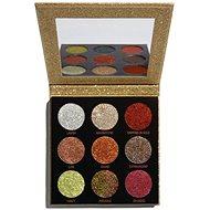 REVOLUTION Pressed Glitter Palette Midas Touch - csillám paletta - Szemfesték paletta