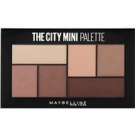 MAYBELLINE NEW YORK City Mini Palette 480 Matte About Town - Szemfesték paletta