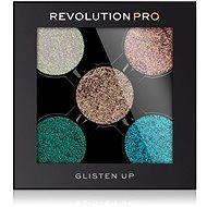 REVOLUTION PRO Glitter Eyeshadow Pack Glisten UP 6 g - Szemfesték paletta