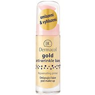 DERMACOL Gold Anti-Wrinkle Make-Up Base Rejuvenating Primer 20 ml - Alapozó