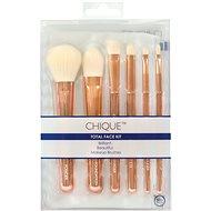 Chique™ RoseGold Total Face Kit 7 pcs - Smink ecset készlet